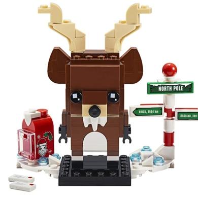 LEGO Set, Reindeer, Elf & Elfie