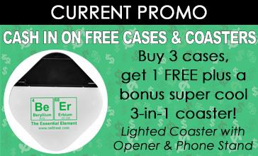 free cases coasters promo