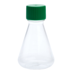 img614 250ml petg erlenmeyer flask solid cap