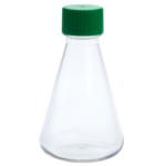 img615 500ml petg erlenmeyer flask solid cap